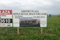 New construction signage
