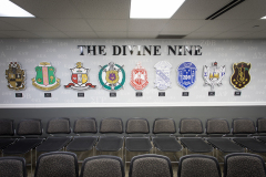 The Divine Nine - wall display