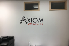 Axiom Consultants wall decal