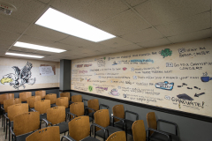 Iowa Memorial Union wall decals