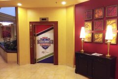 NAIA Cross Country Championships elevator decals