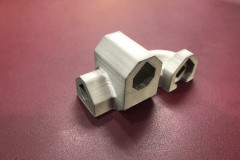 3d printed metal actuator housing