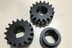 Composite plastic 3D printed gears