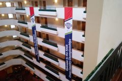 4-story banner, NAIA Cross Country Championships