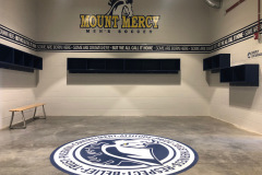 Locker Room at Mount Mercy College