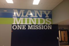 Many Minds wall decal