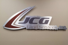 JCG Land Services sign