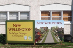 New Wellington signs