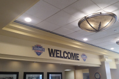 Welcome sign for NAIA Cross Country Championships