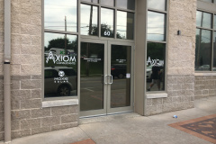 Window Graphics at Axiom Consultants