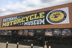 National Motorcycle Museum window decals