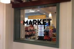 Market window decal