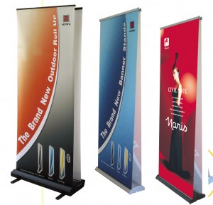 Banner-Display-Stand