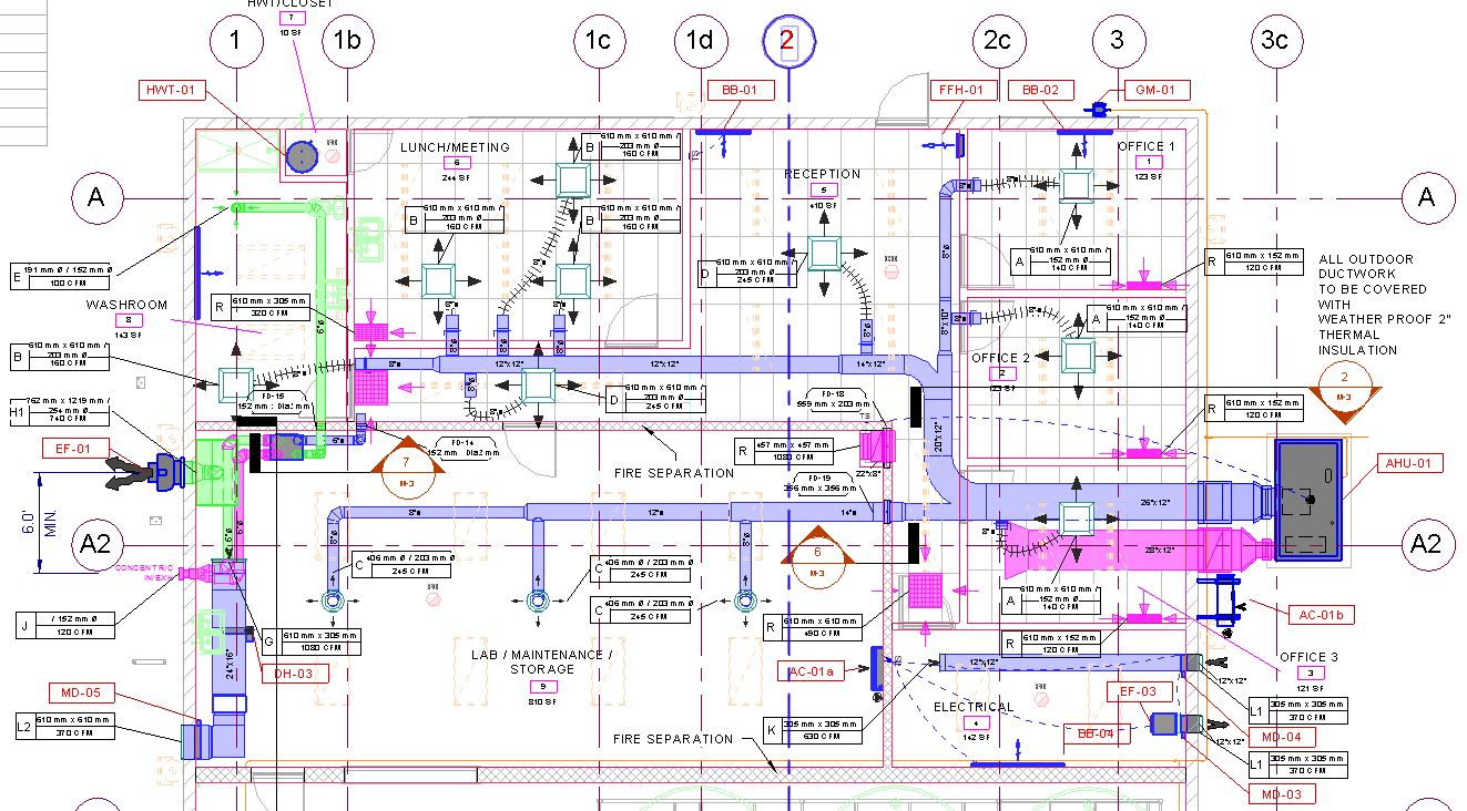 Cad blueprint printing services construction document printing color line malvernweather Choice Image