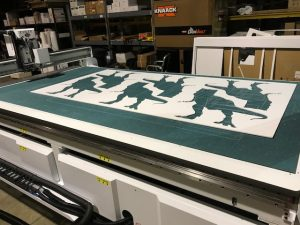 Custom Graphics Printing And Cutting Rapids Reproductions