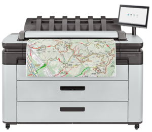 HP DesignJet XL 3600 MFP series Printer