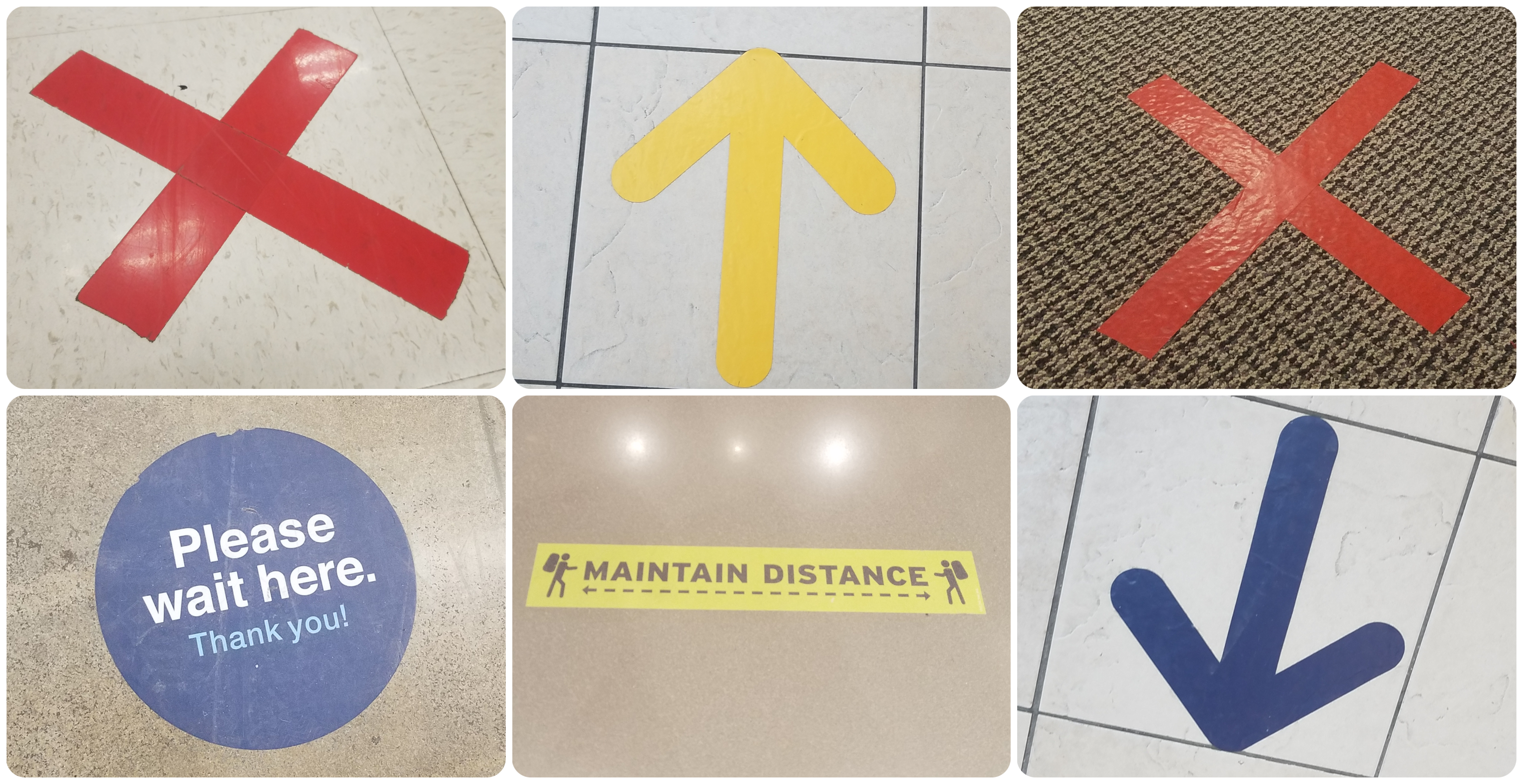 Bad Examples of Floor Graphics